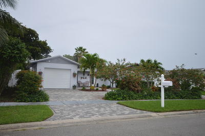 Delray Beach Single Family Home Contingent: 6556 Winding Brook Way