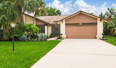Delray Beach Single Family Home For Sale: 5645 Willow Creek Lane