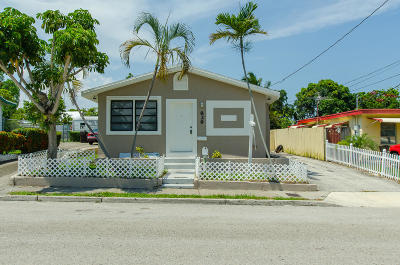 West Palm Beach Single Family Home For Sale: 829 Kaye Street