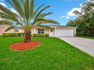 Port Saint Lucie Single Family Home For Sale: 1980 SW Ember Street