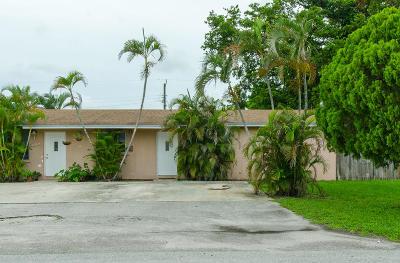 Lake Worth Multi Family Home For Sale: 4059 Gardenia Avenue