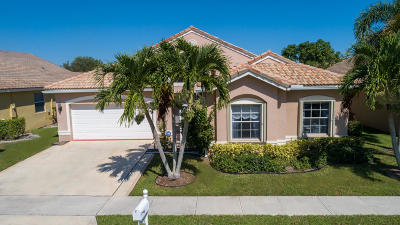 Boynton Beach FL Single Family Home For Sale: $395,000