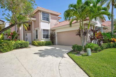 Palm Beach Gardens Single Family Home For Sale: 341 Eagleton Golf Drive