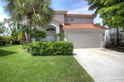 Boca Raton Single Family Home For Sale: 10603 Buttonwood Lake Drive