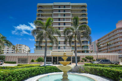 Highland Beach Condo For Sale: 2917 S Ocean Boulevard #505