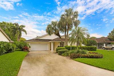 Jupiter Single Family Home Contingent: 5827 Stonewood Court