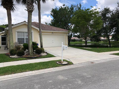 Boynton Beach FL Single Family Home For Sale: $319,900