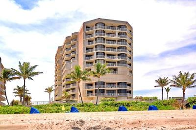 Highland Beach Townhouse For Sale: 2917 S Ocean Boulevard #205