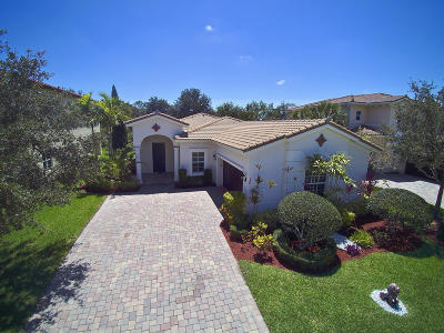 Jupiter Single Family Home Contingent: 161 Porgee Rock Place