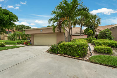 Boynton Beach Single Family Home For Sale: 11178 Applegate Circle