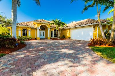 Stuart Single Family Home For Sale: 4160 SE Old St Lucie Boulevard