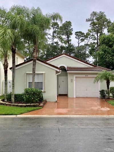 Lake Worth Single Family Home For Sale: 6958 Silverado Terrace