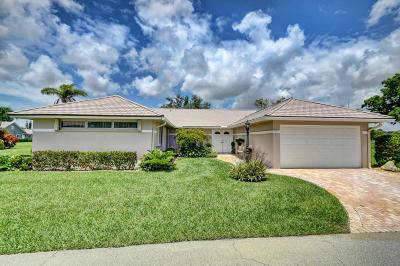 Boynton Beach Single Family Home For Sale: 10 Garden Drive