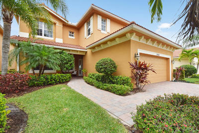 Palm Beach Gardens Single Family Home For Sale: 12070 Aviles Circle