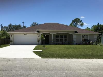 Port Saint Lucie Rental For Rent: 632 SW Homeland Road