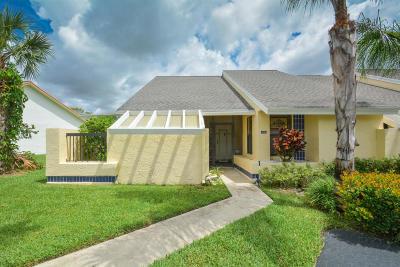 Boca Raton Single Family Home For Sale: 10981 Hidden Lake Place S