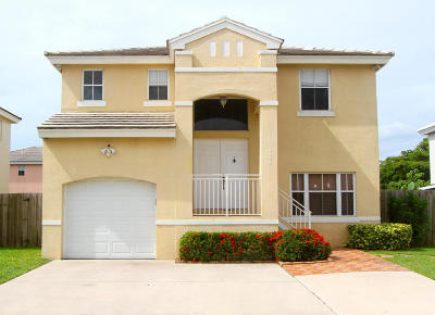 Margate Single Family Home For Sale: 6460 French Angel Terrace