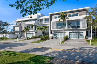 Delray Beach Townhouse For Sale: 917 Bucida Road #B