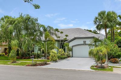 Palm Beach Gardens Single Family Home For Sale: 13443 Miles Standish Port