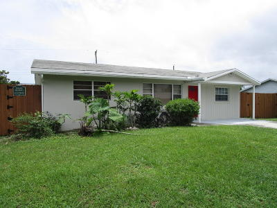 Boynton Beach Single Family Home For Sale: 824 NW 6th Avenue