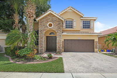 Lake Worth Single Family Home For Sale: 4049 Plumbago Place