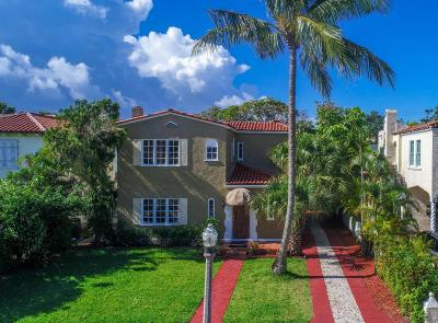 West Palm Beach Single Family Home For Sale: 310 Granada Road