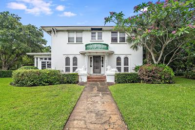 West Palm Beach Single Family Home For Sale: 3101 Washington Road