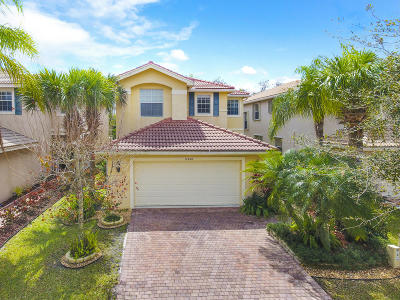Royal Palm Beach Single Family Home For Sale: 11458 Silk Carnation Way