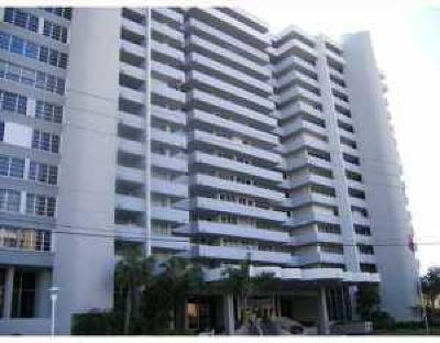 Pompano Beach Condo For Sale: 1390 S Ocean Boulevard #9b
