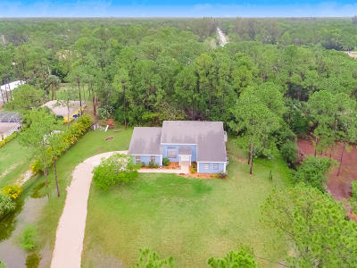 Jupiter Single Family Home Contingent: 11763 154th Road