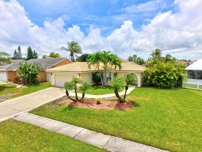 Boynton Beach Single Family Home For Sale: 5052 Rosen Boulevard