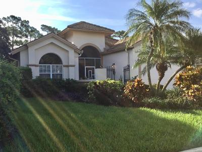 Port Saint Lucie Single Family Home For Sale: 7226 Mystic Way