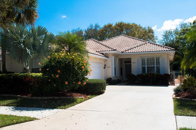 Palm Beach Gardens Single Family Home For Sale: 411 Kelsey Park Drive