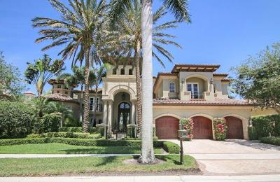 Palm Beach Gardens Single Family Home For Sale: 113 Via Capri