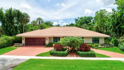 Boca Raton Single Family Home Contingent: 6644 Serena Lane