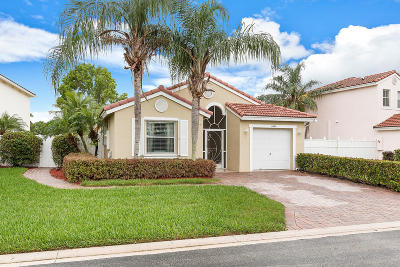 Lake Worth, Lakeworth Single Family Home Contingent: 8049 Pelican Harbour Drive