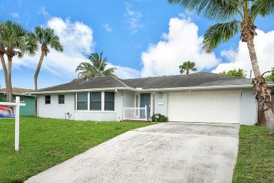 Palm Beach Gardens Single Family Home For Sale: 3946 Holly Drive
