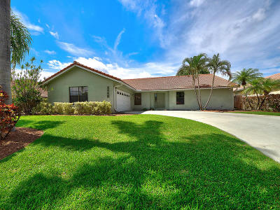 Lake Worth Single Family Home For Sale: 1709 Pierce Drive