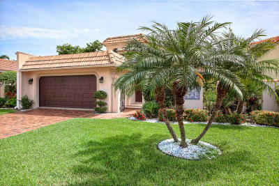 Delray Beach Single Family Home For Sale: 3557 Admirals Way