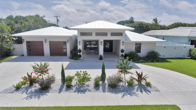 Delray Beach Single Family Home For Sale: 1117 Lake Drive