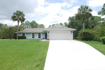 Jupiter Single Family Home For Sale: 11983 Sandy Run Road