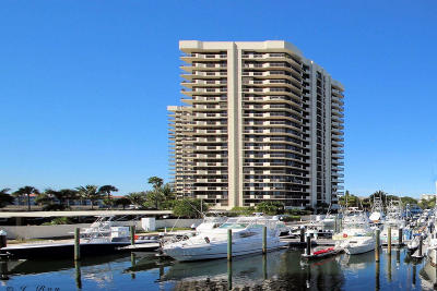 North Palm Beach Condo For Sale: 100 Lakeshore Drive #253