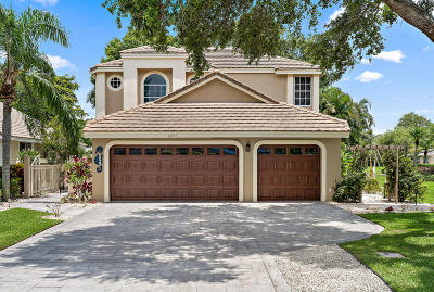 West Palm Beach Single Family Home For Sale: 6825 Briarlake Circle
