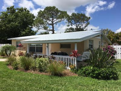 Palm City Single Family Home For Sale: 3216 SW Areca Drive