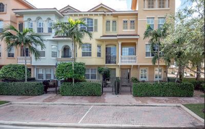 Palm Beach Gardens Townhouse For Sale: 2424 San Pietro Circle