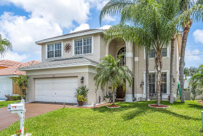 Boynton Beach Single Family Home For Sale: 1379 Fairfax Circle E