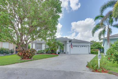 Greenacres Single Family Home Contingent: 1235 Olympic Circle