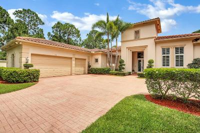Palm Beach Gardens FL Single Family Home For Sale: $1,170,000