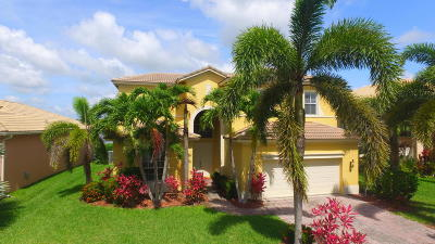 Fort Pierce Single Family Home Contingent: 6024 Santa Margarito Drive