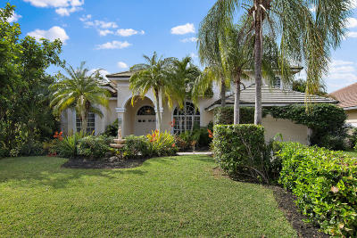 Palm Beach Gardens Single Family Home For Sale: 19 Windward Isle(S)